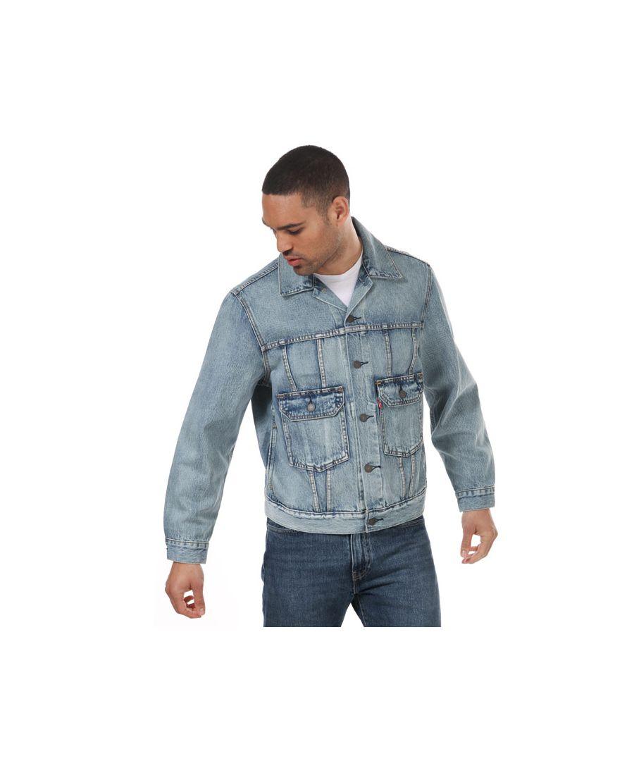 Image for Men's Levis Iconic Original Trucker Jacket Light Blue Sin Light Blue