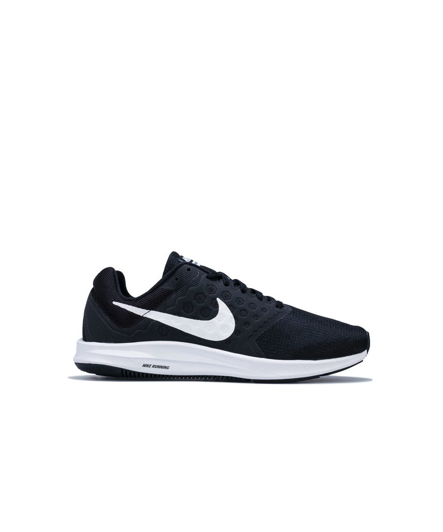 Image for Women's Nike Downshifter 7 Running Shoes in Black-White