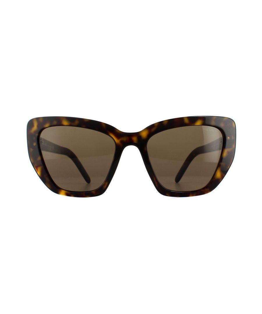 Image for Prada Sunglasses PR08VS 2AU8C1 Havana Brown
