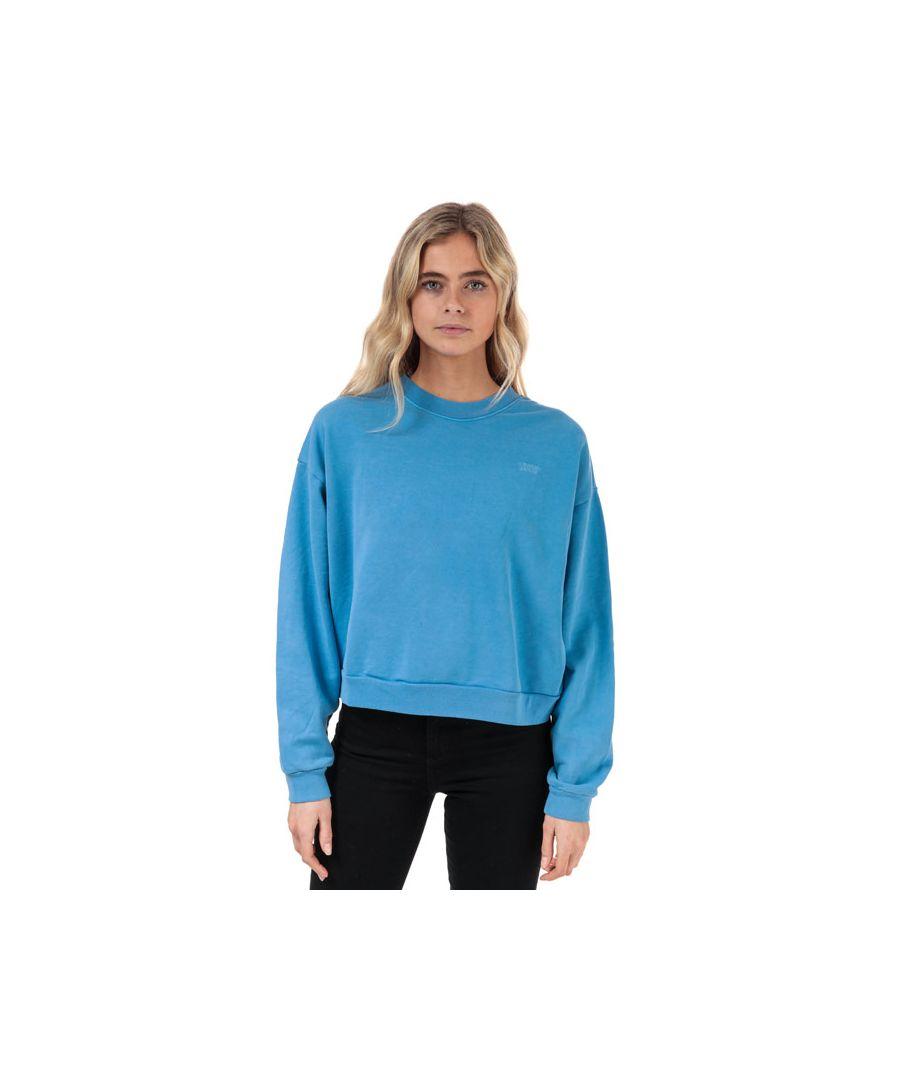 Image for Women's Levis Diana Crew Neck Sweatshirt in Blue