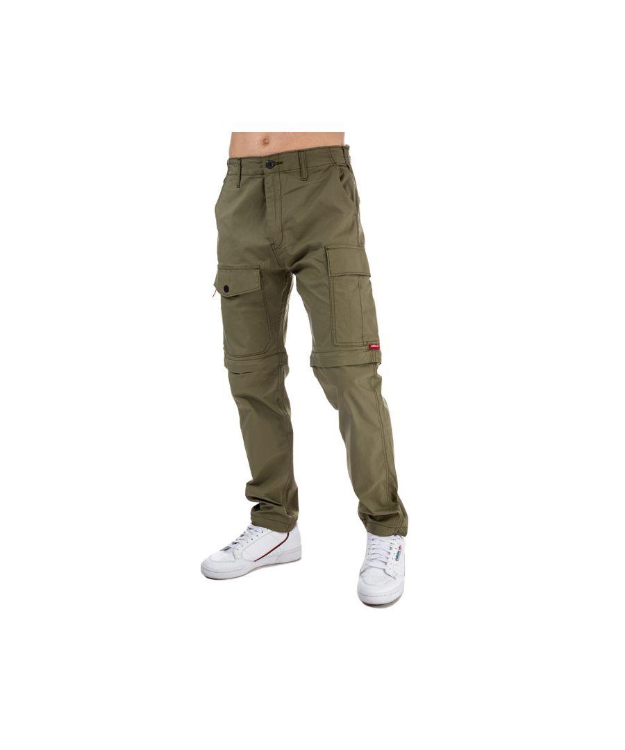 Image for Men's Levis Lo Ball Zip Off Cargo Pants in Khaki