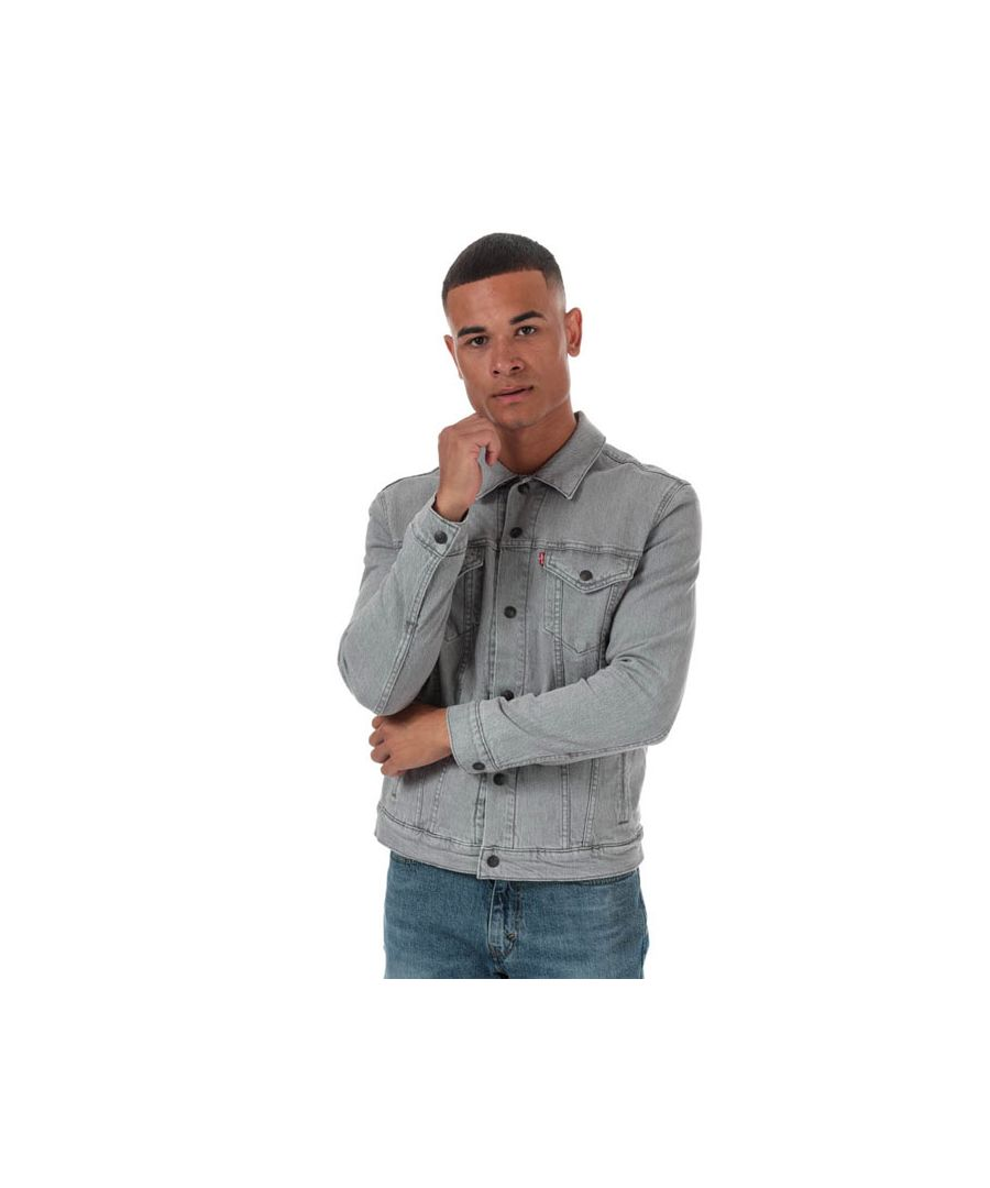Image for Men's Levis Reversible Lined Trucker Jacket in Denim