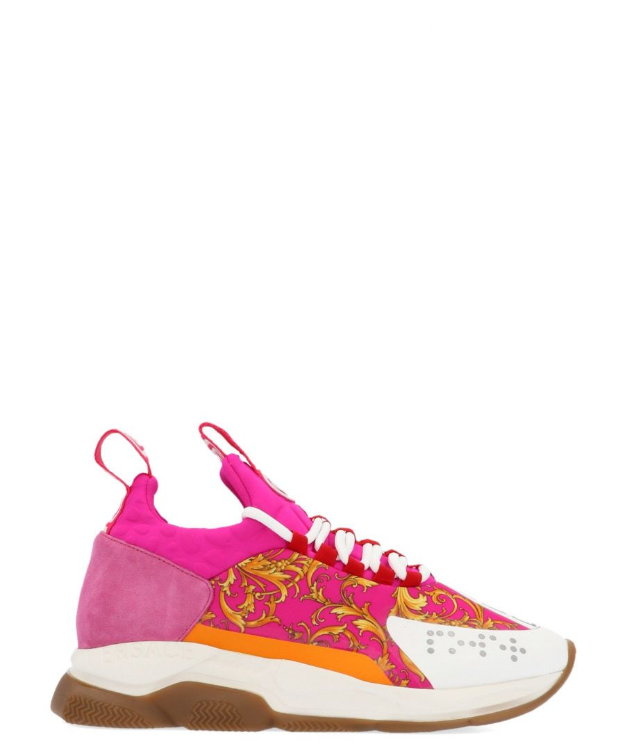 Image for VERSACE WOMEN'S DSR857GDT22DF91 MULTICOLOR POLYAMIDE SNEAKERS