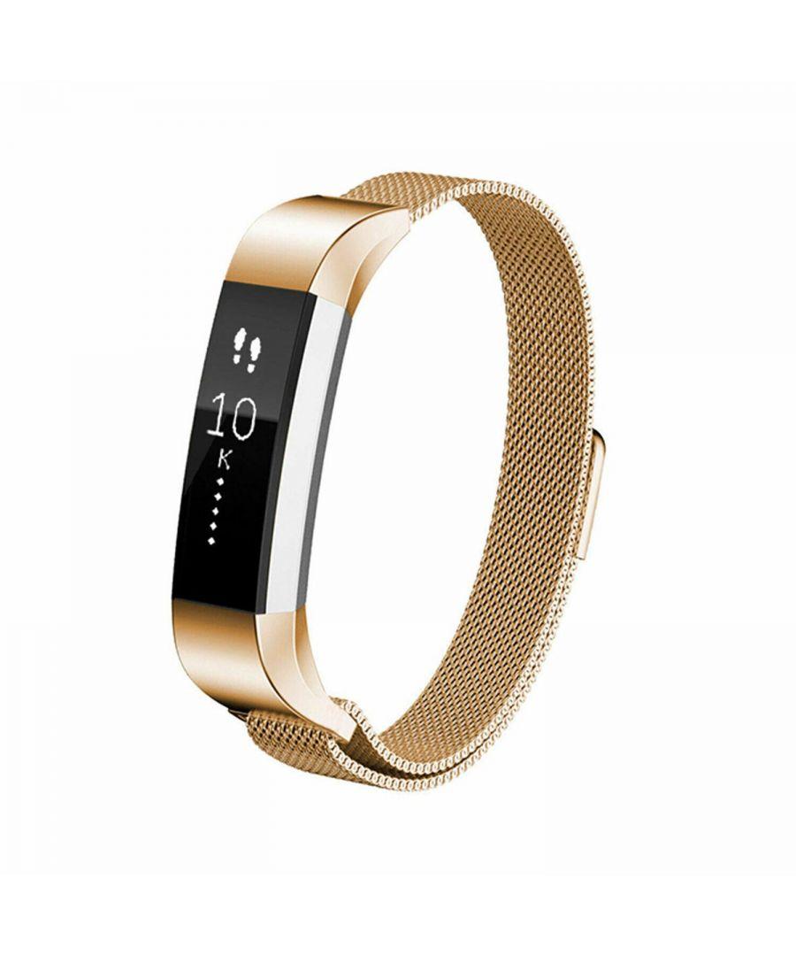 Image for Aquarius Fitbit Alta Milanese Replacement Straps Alta Gold