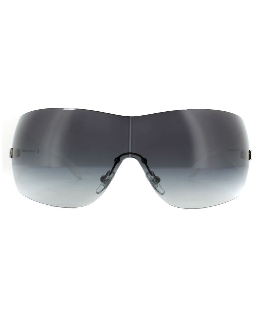 Image for Versace Sunglasses VE2054 10008G Silver Grey Gradient