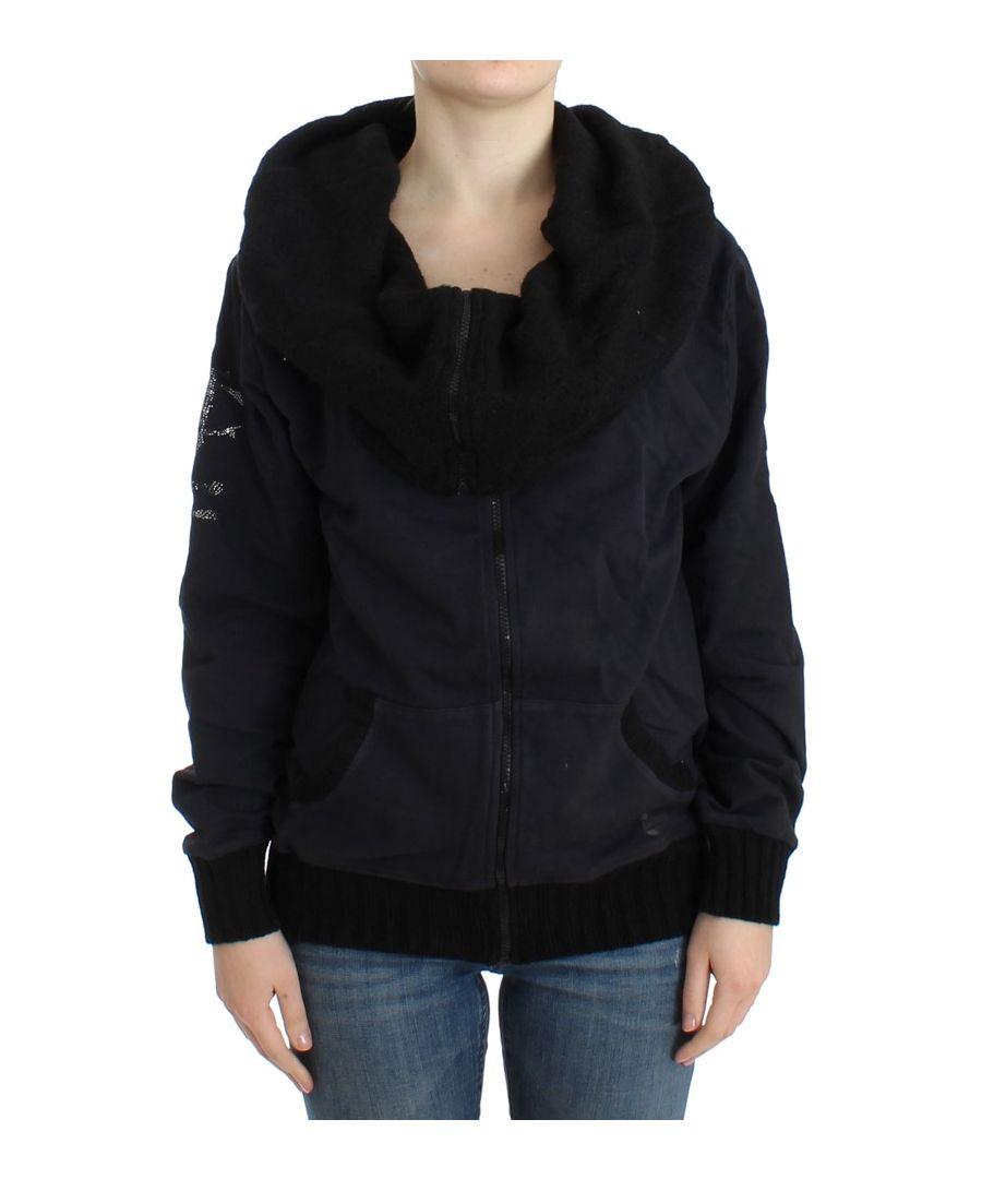 Image for Cavalli Black cotton jacket