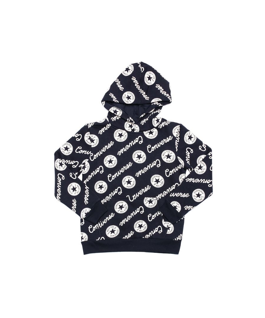Image for Boy's Converse Infant Signature Chuck Hoody in Navy