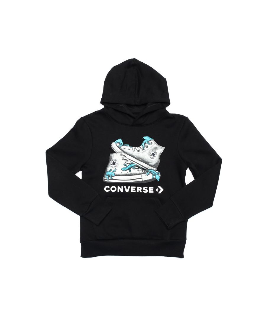 Image for Boy's Converse Infant Bio Chuck Hoody in Black