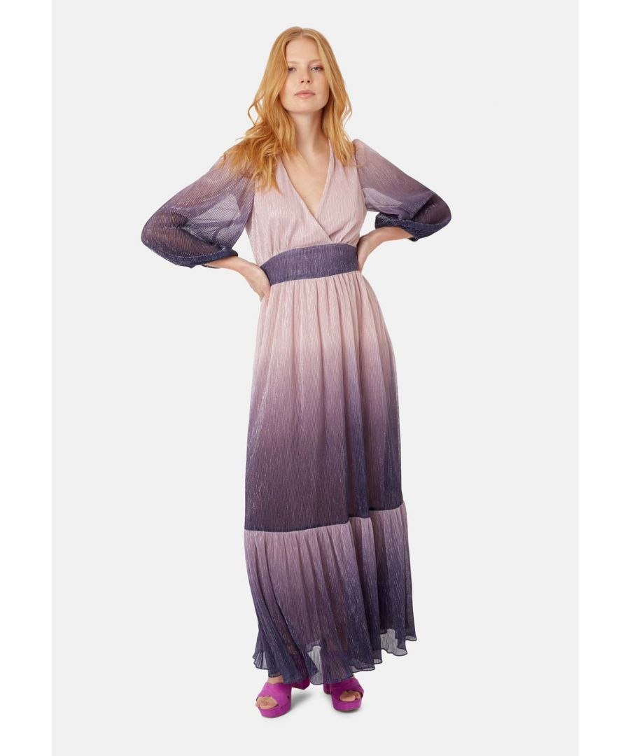 Image for Silent Breathe Maxi Dress in Pink and Purple