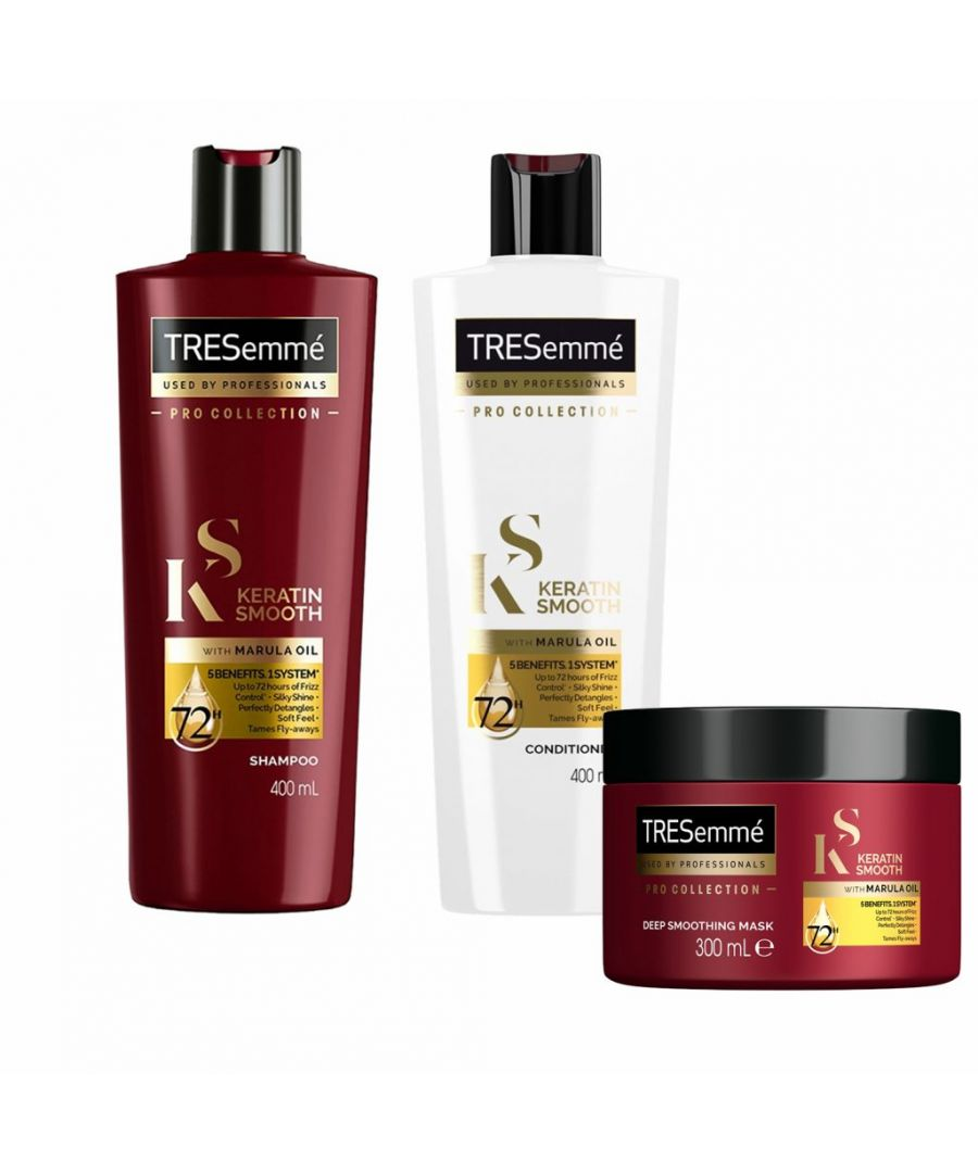 Image for TRESemme Keratin Smooth Shampoo and Conditioner, 400ml & Mask 300ml