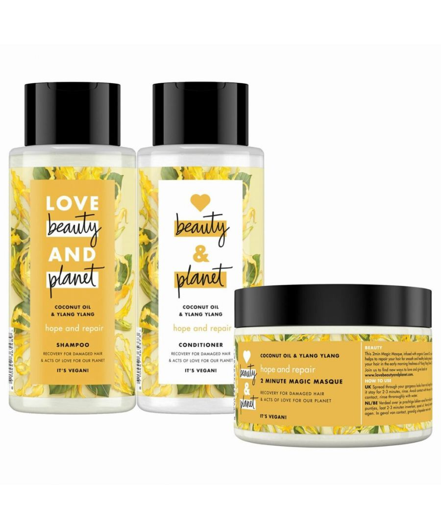 Image for Love Beauty & Planet Hope and Repair Hair Bundle