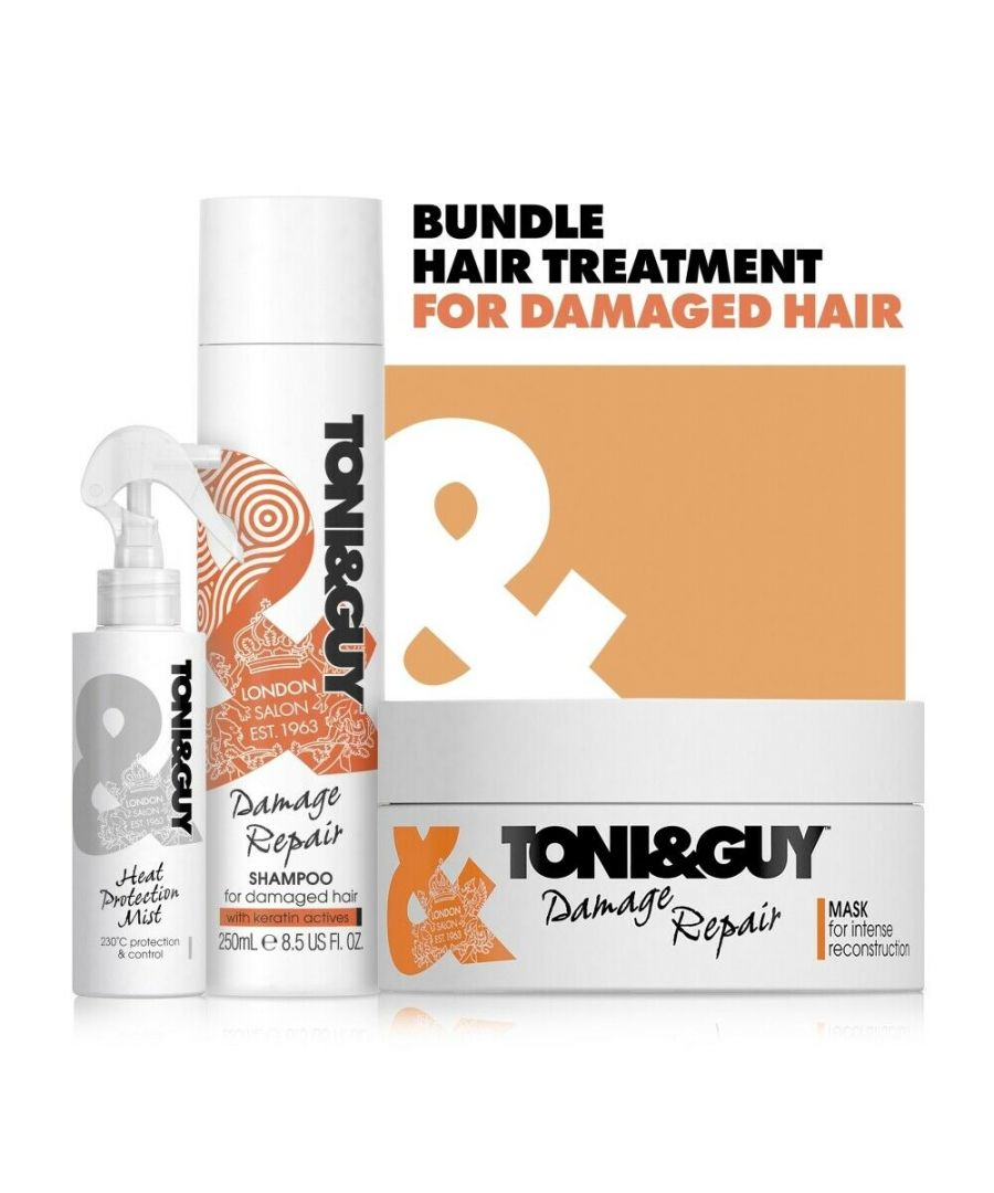 Image for Toni & Guy Damaged Hair Regime Bundle