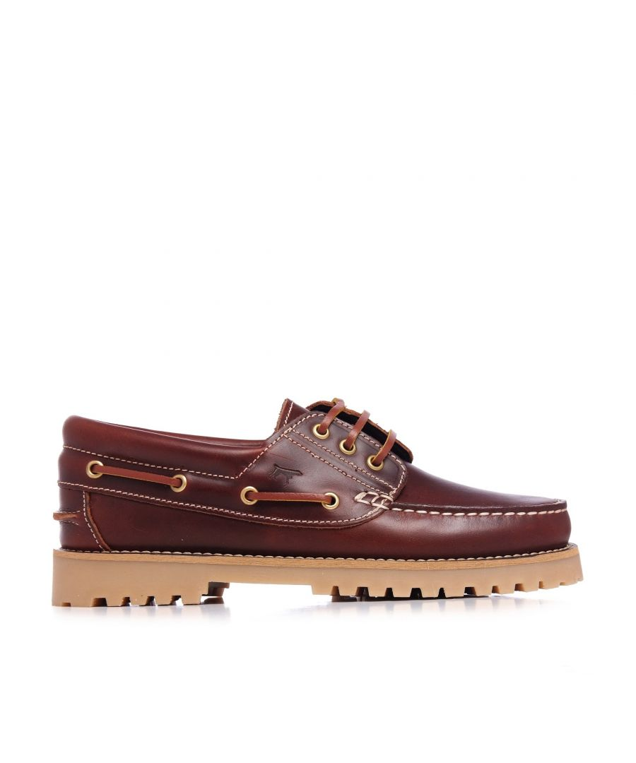 Image for Leather Boat Shoes for Women Castellanisimos Comfort High Quality Shoe