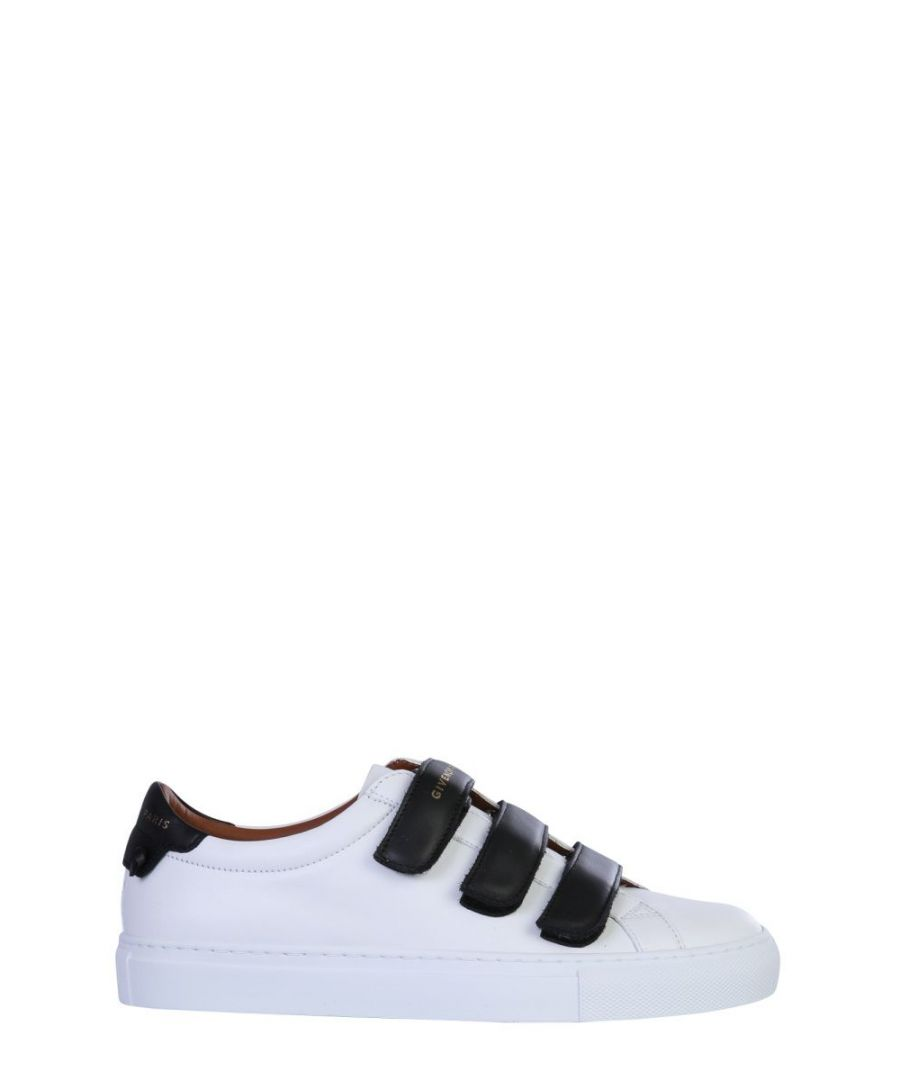 Image for GIVENCHY WOMEN'S BE000YE0K7116 WHITE LEATHER SNEAKERS