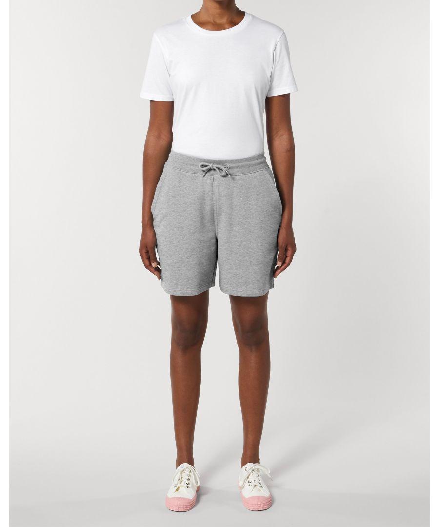Image for Vayu Unisex Jogger Shorts in Grey