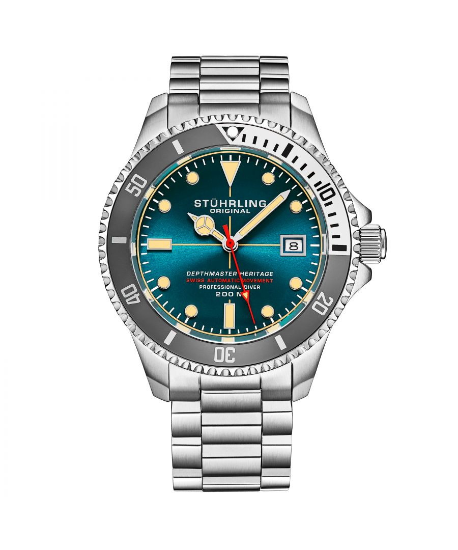 Image for Turquoise Swiss Automatic Depthmaster Heritage 42mm Diver