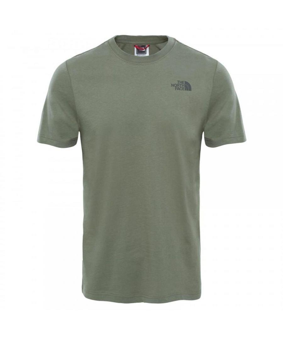 Image for The North Face Redbox Mens Short Sleeve T-Shirt Khaki - M