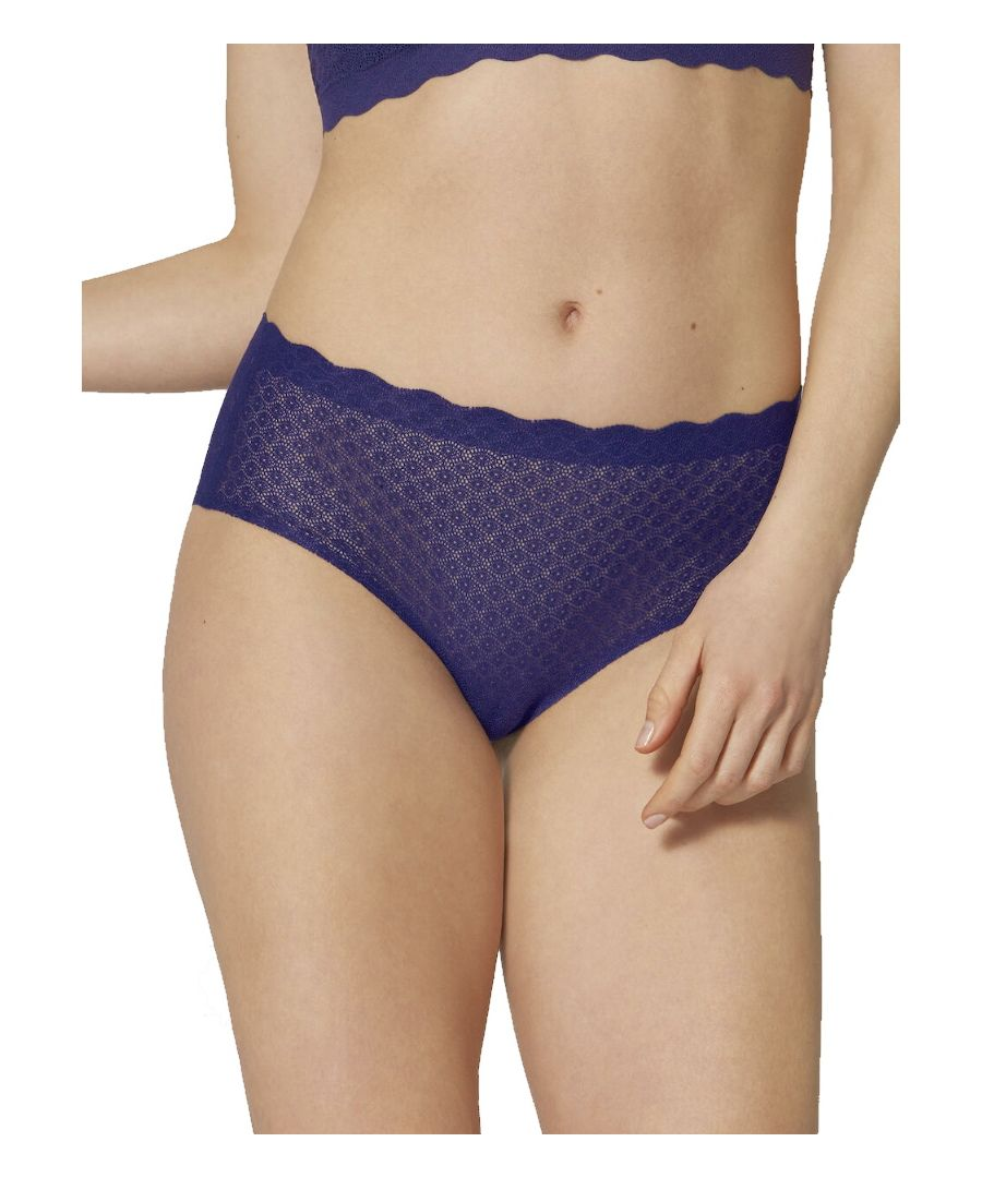 Image for Zero Feel Lace High Waist Brief