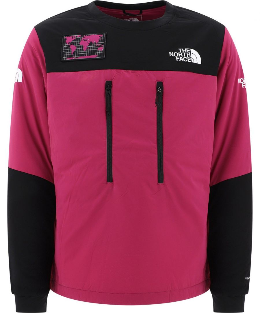 Image for THE NORTH FACE MEN'S NF0A4AIRZDN1 FUCHSIA POLYAMIDE SWEATSHIRT