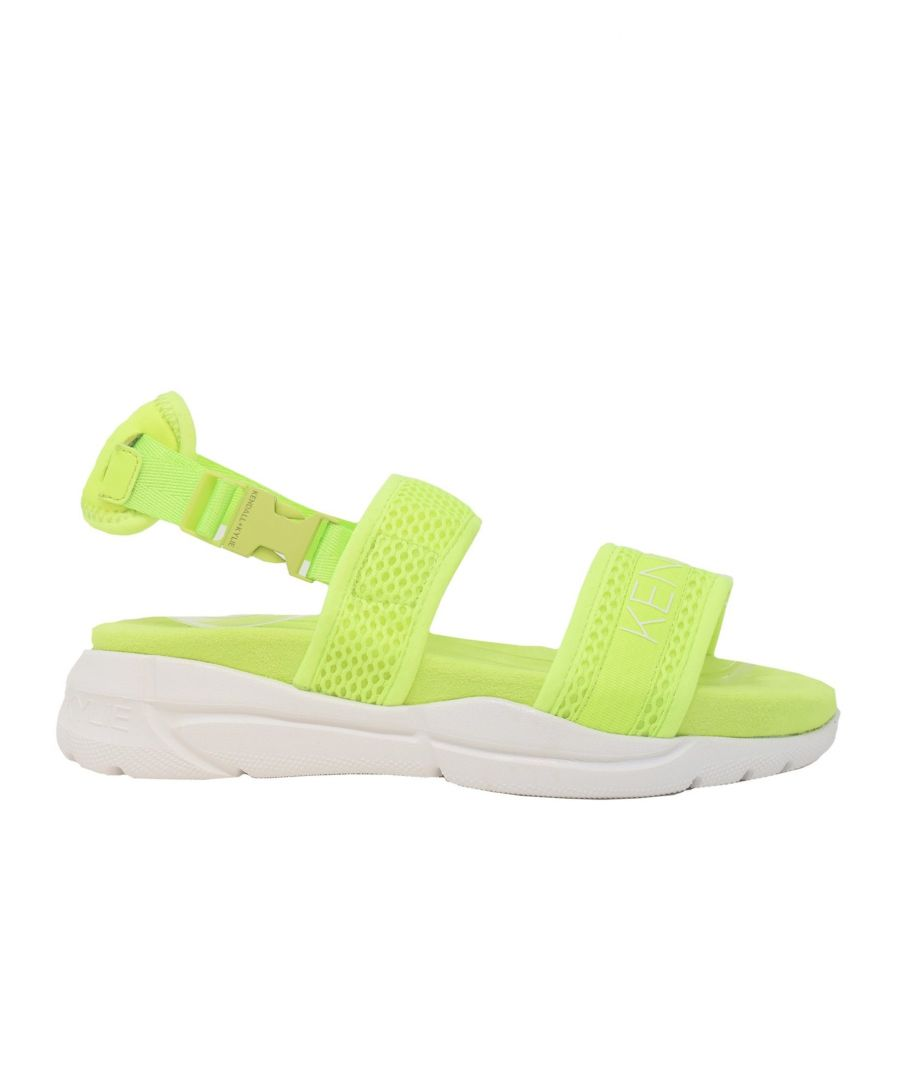 Image for KENDALL + KYLIE WOMEN'S KK2NOARI06 YELLOW SYNTHETIC FIBERS SANDALS