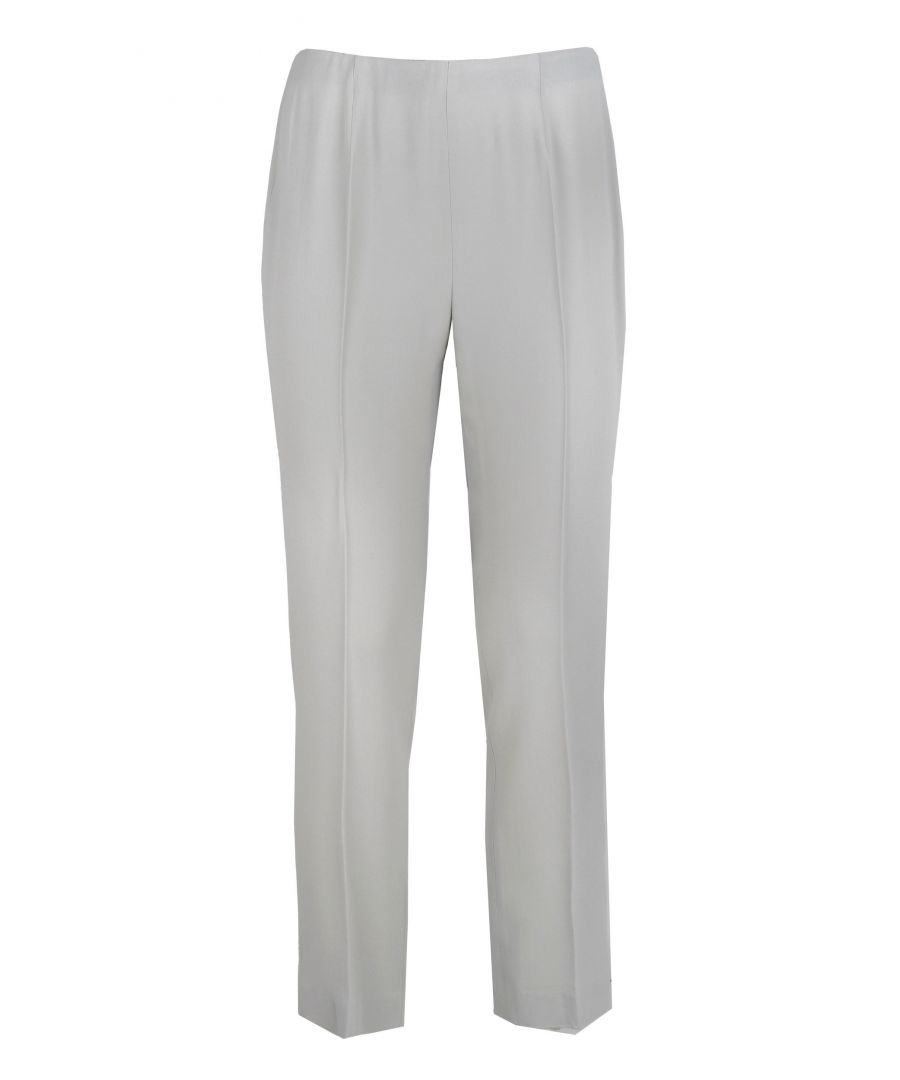 Image for LES COPAINS WOMEN'S 0L37842280114 WHITE ACETATE PANTS