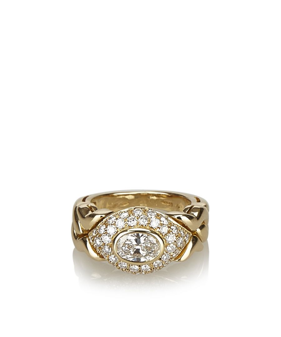 Image for Vintage Bvlgari 18K Diamond Ring Gold