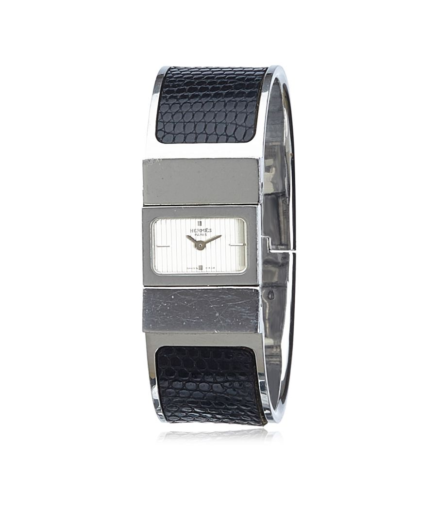 Image for Vintage Hermes Loquet Watch Black
