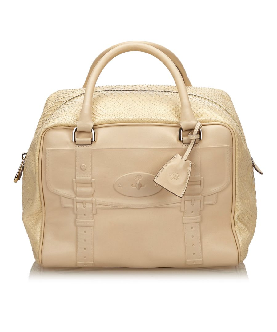 Image for Vintage Mulberry Leather Maisie Brown