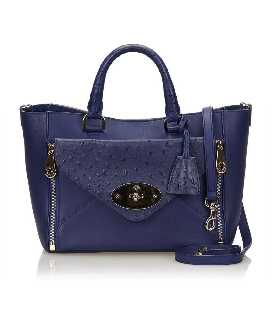 Image for Mulberry Leather Willow Blue