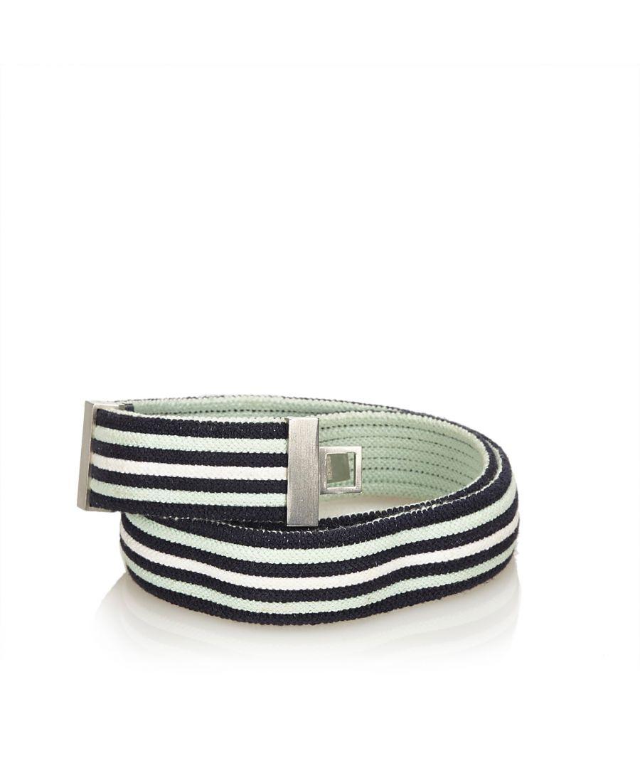 Image for Hermes Cotton Belt Blue
