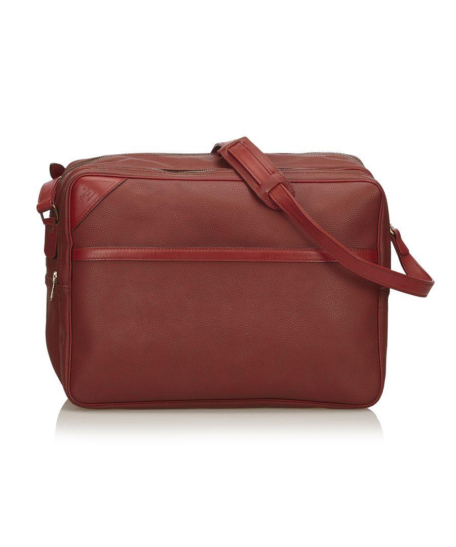Image for Vintage Louis Vuitton Challenge Cup Line 2 Shoulder Bag Red