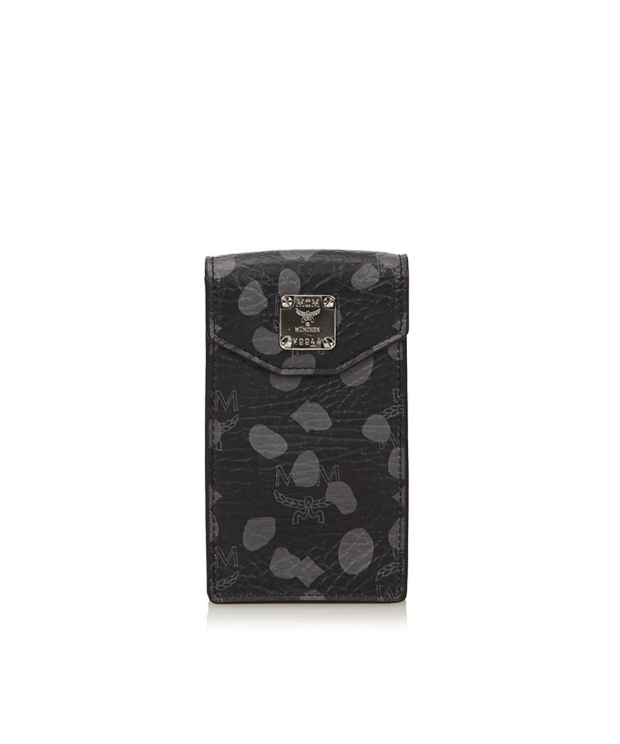 Image for Vintage MCM Dalmatian Print Phone Case Black