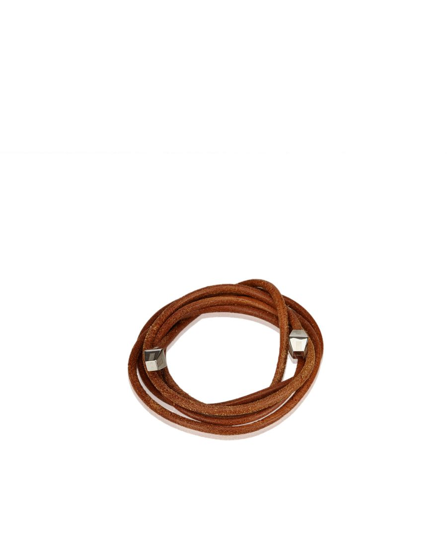 Image for Hermes Leather Rope Waist Belt Brown