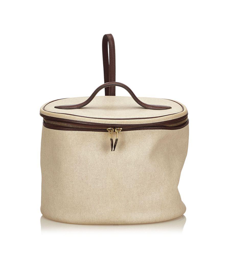 Image for Hermes Intercity Vanity Bag White