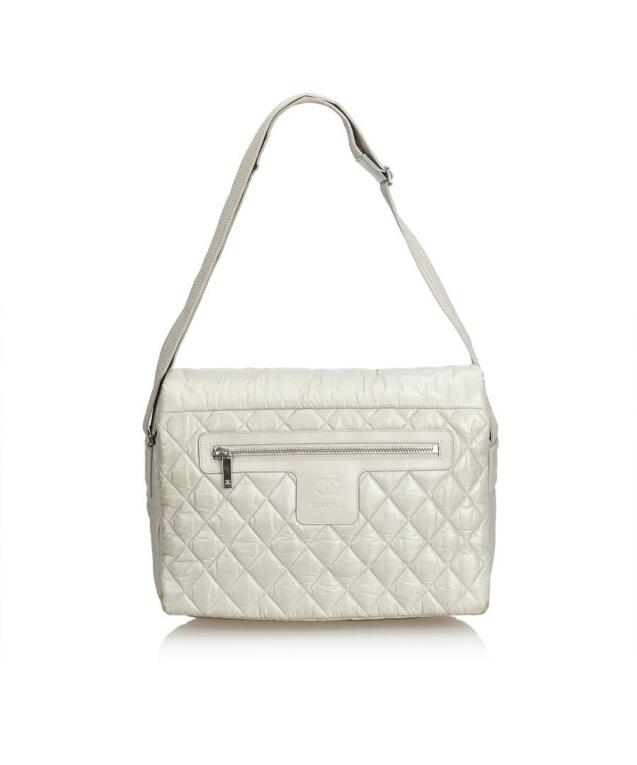 Image for Chanel Cocoon Messenger Bag Gray