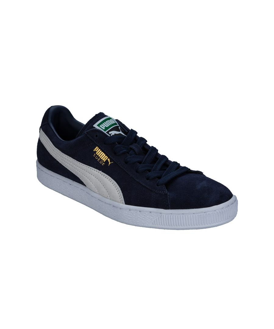 Image for Men's Puma Suede Classic Trainers in Navy