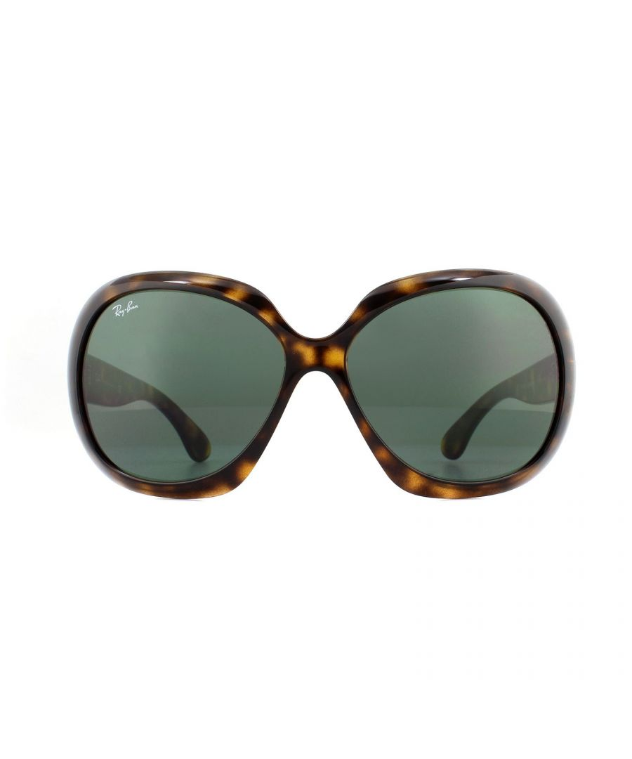 Image for Rayban Sunglasses Jackie Ohh II 4098 710/71 Light Havana Green