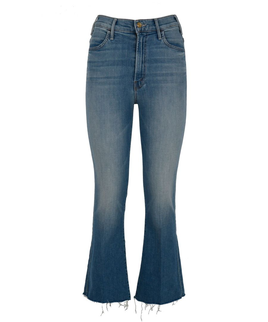 Image for MOTHER WOMEN'S 1117383 BLUE COTTON JEANS