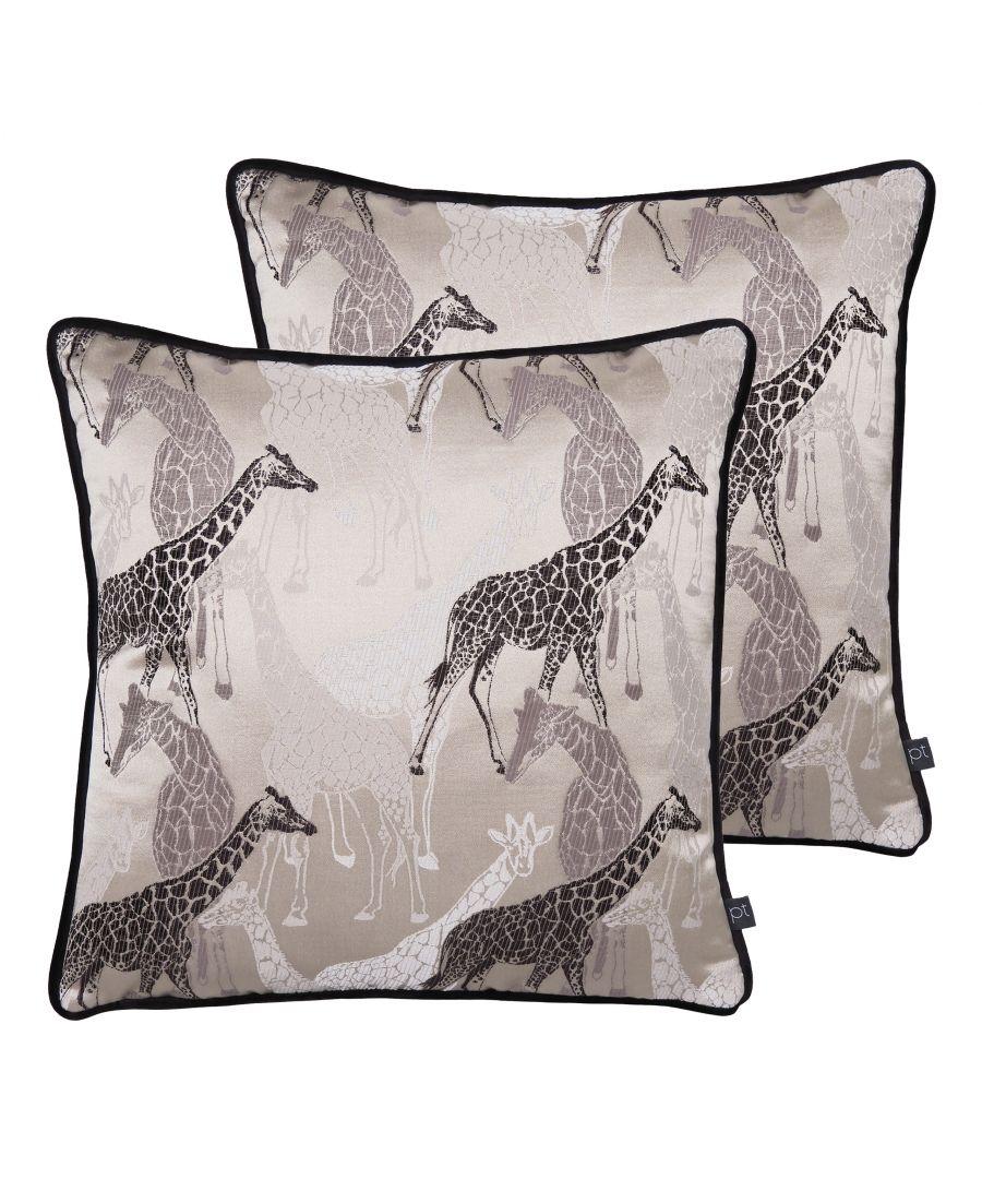 Image for Giraffe Cushions (Twin Pack)