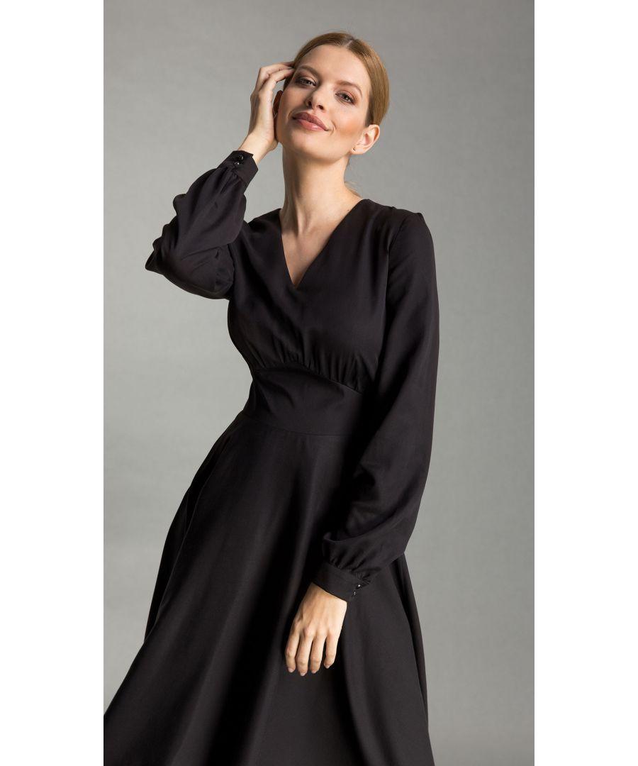 Image for Caroline Black Dress