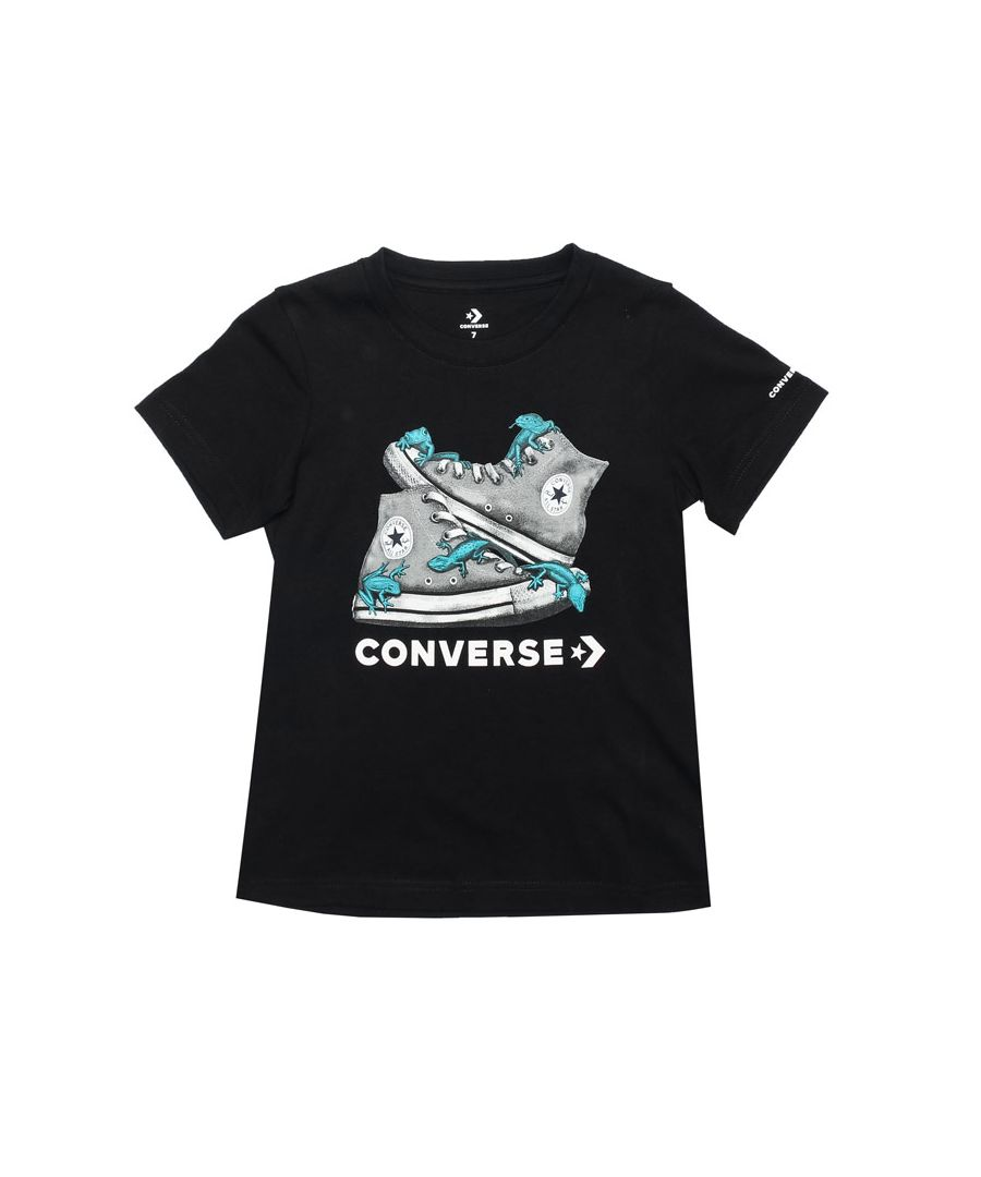Image for Boy's Converse Infant Bio Chuck T-Shirt in Black