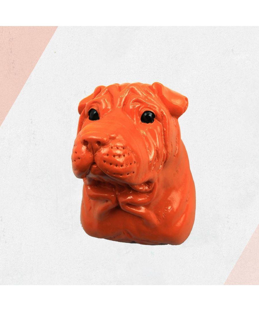Image for Animal Coat Hook - Bull Dog - Amber