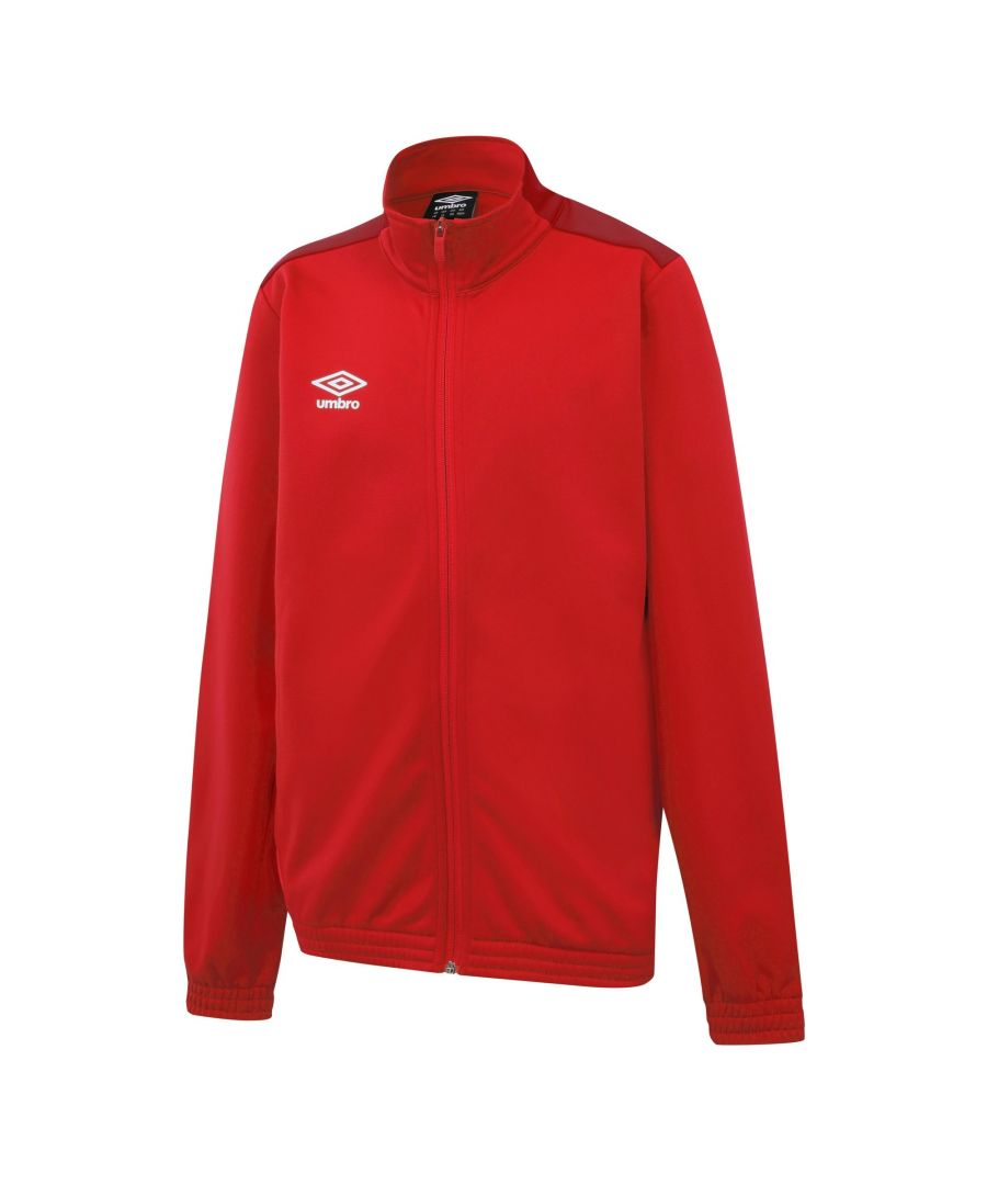 Image for Umbro Boys Knitted Jacket (Vermillion/Jester Red)