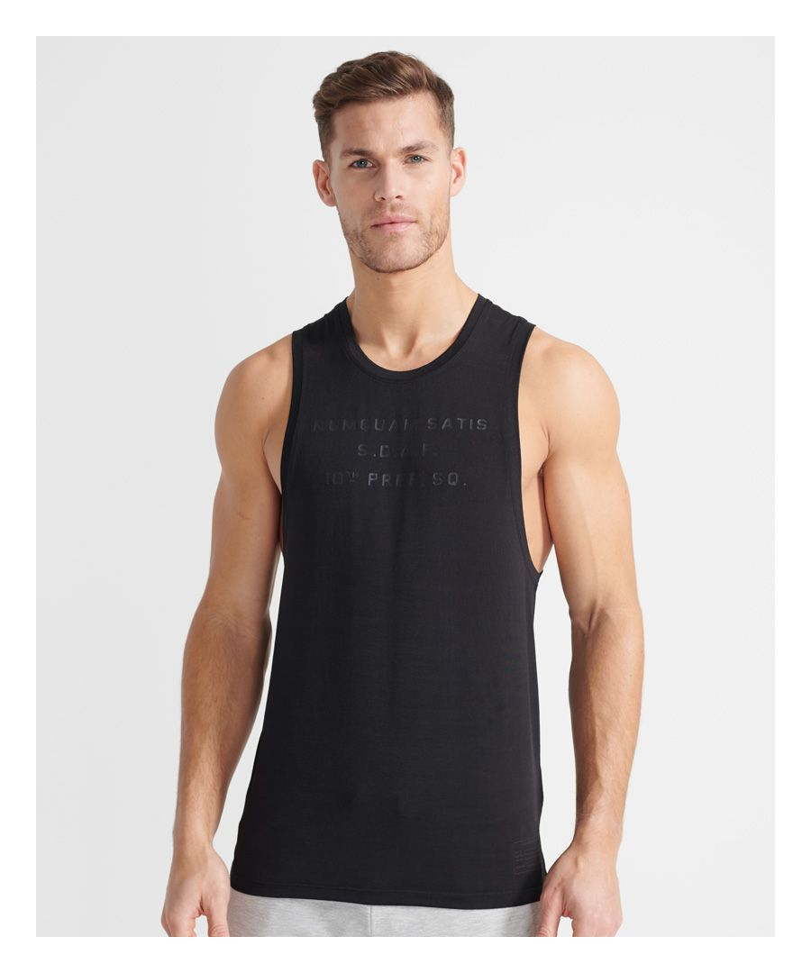 Image for Sport Training Bootcamp Dropped Tank Top