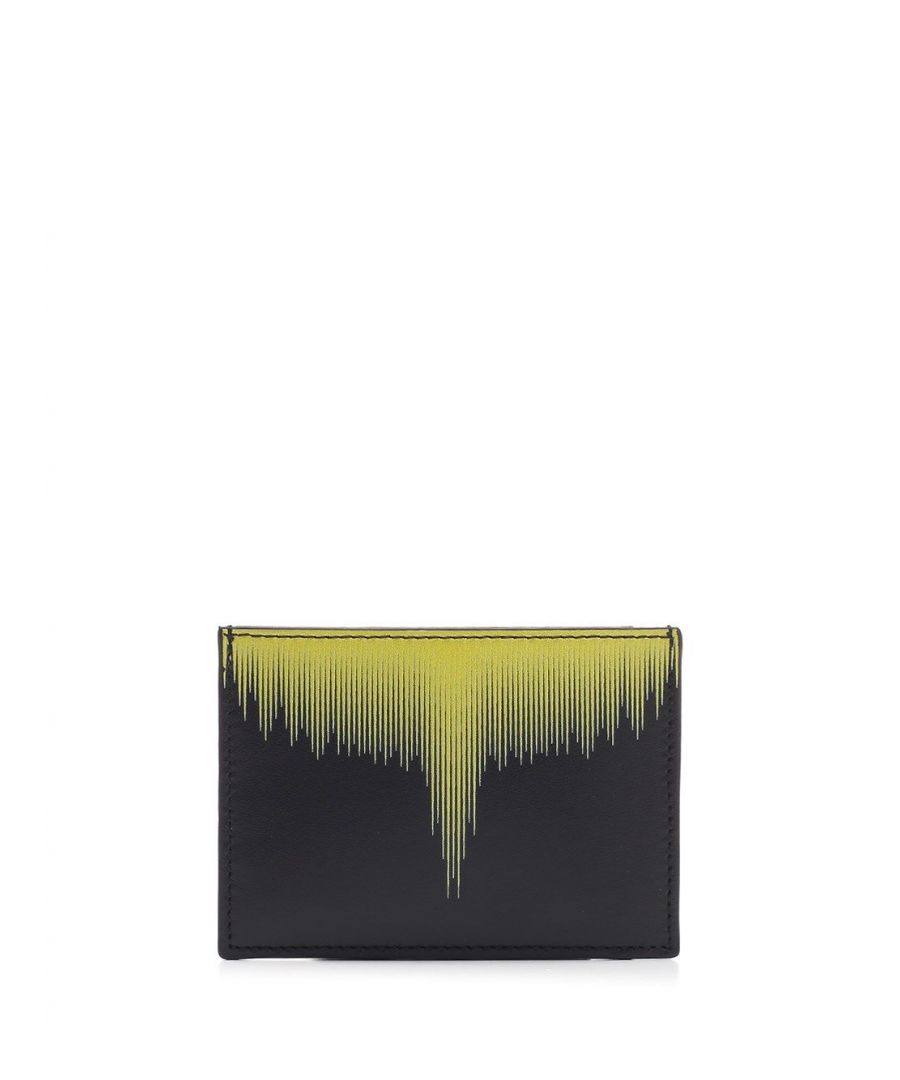 Image for MARCELO BURLON MEN'S CMND009S20LEA0021015 BLACK LEATHER CARD HOLDER