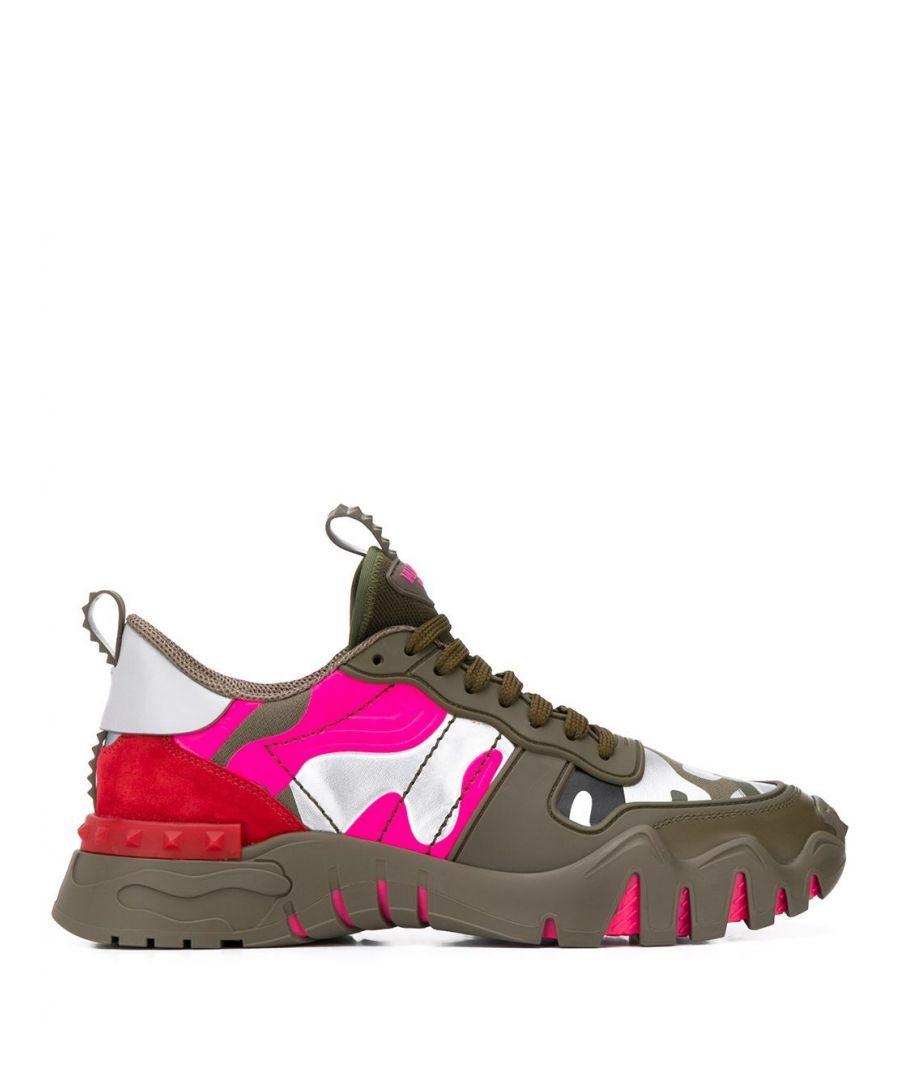 Image for VALENTINO MEN'S TY0S0C88MHB34G FUCHSIA POLYESTER SNEAKERS