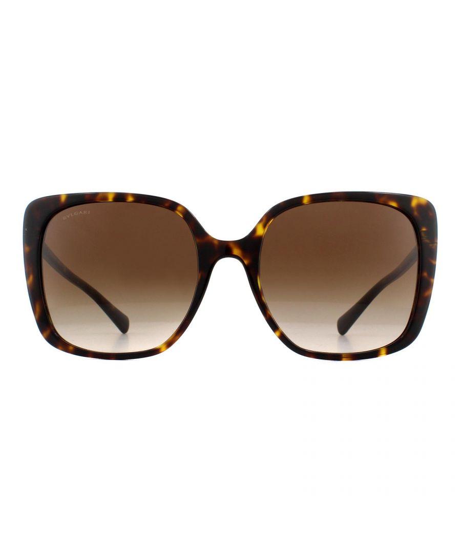 Image for Bvlgari Sunglasses BV8225B 504/13 Dark Havana Brown Gradient