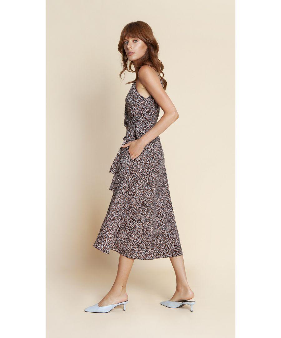 Image for Dress Blanca Floral Black