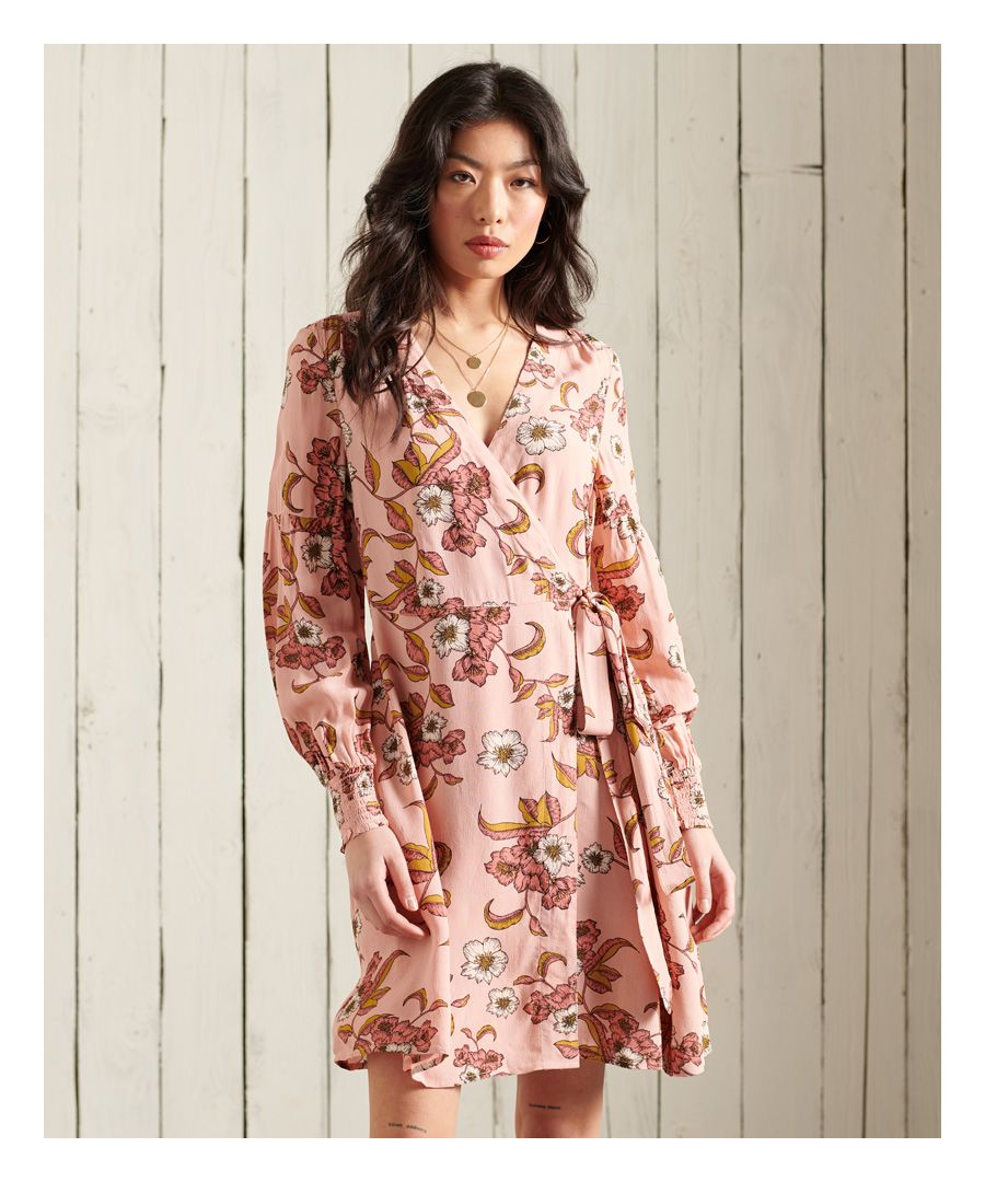 Image for Superdry Bohemian Wrap Dress