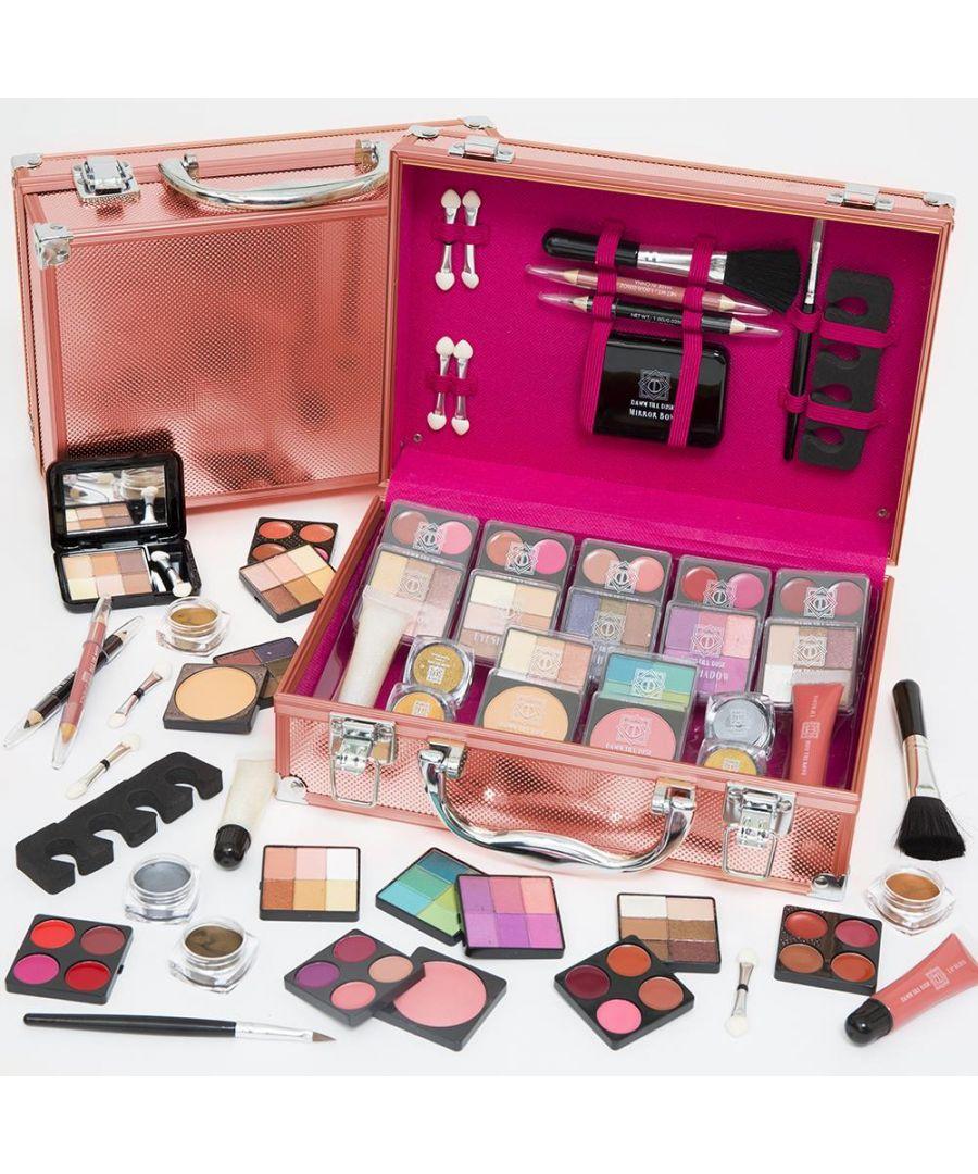 Image for Envie Make Up Vanity Case 80 Piece Rose Gold